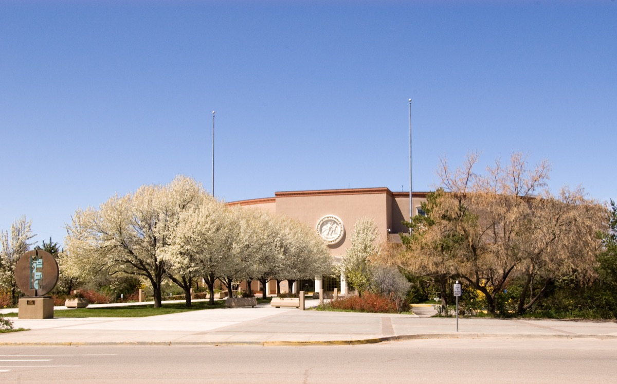 new mexico state capitol buildings