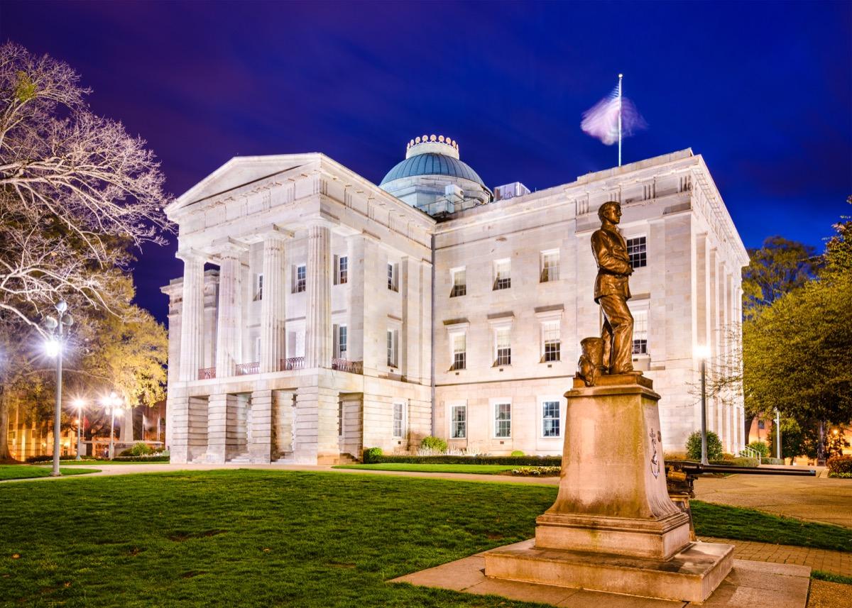 north carolina state capitol buildings