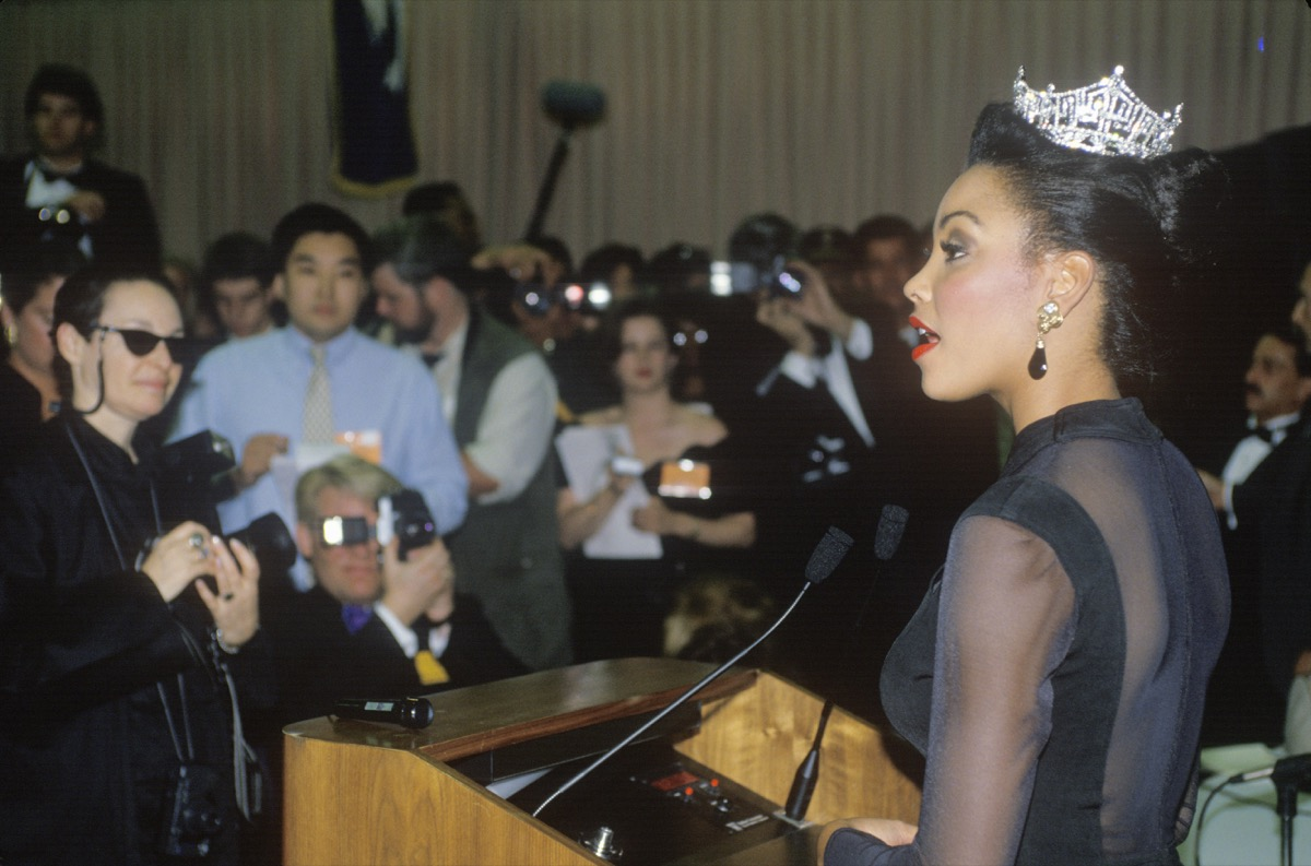 kalyin chapman at old miss usa pageant conference, pageant facts
