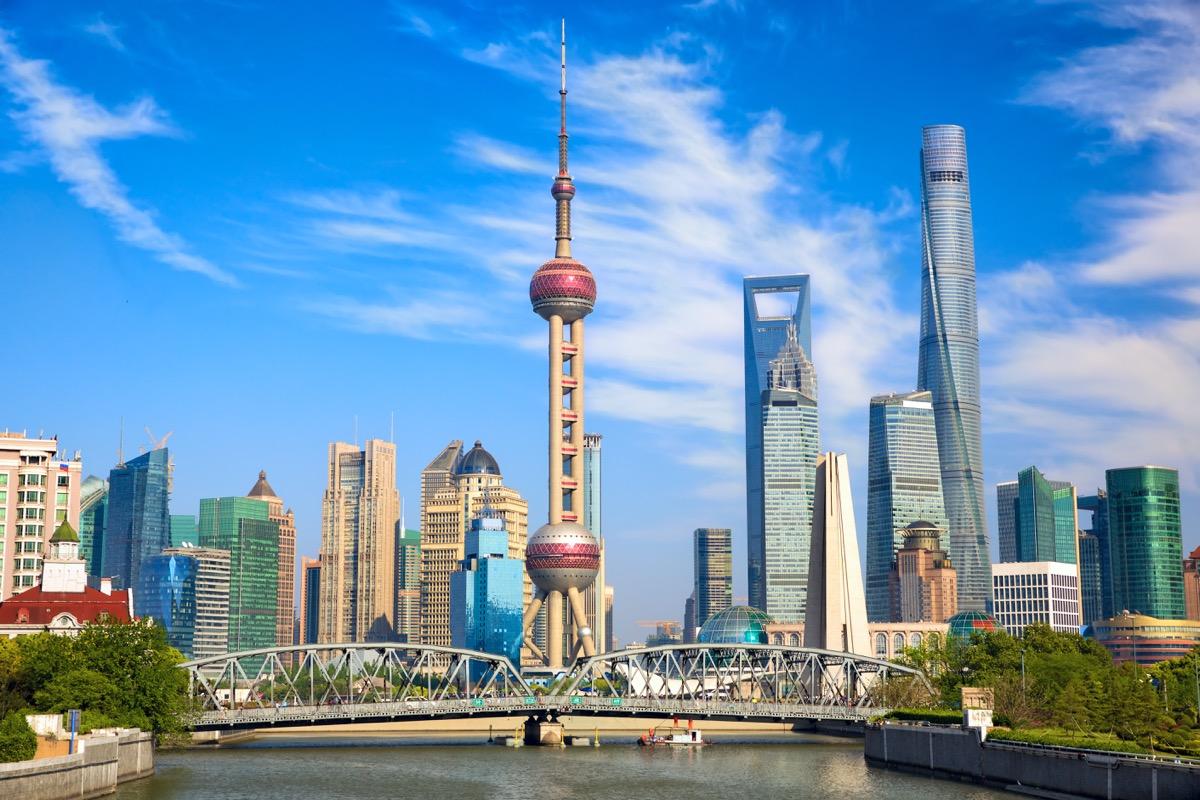Shanghai Skyline Privately Owned Landmarks