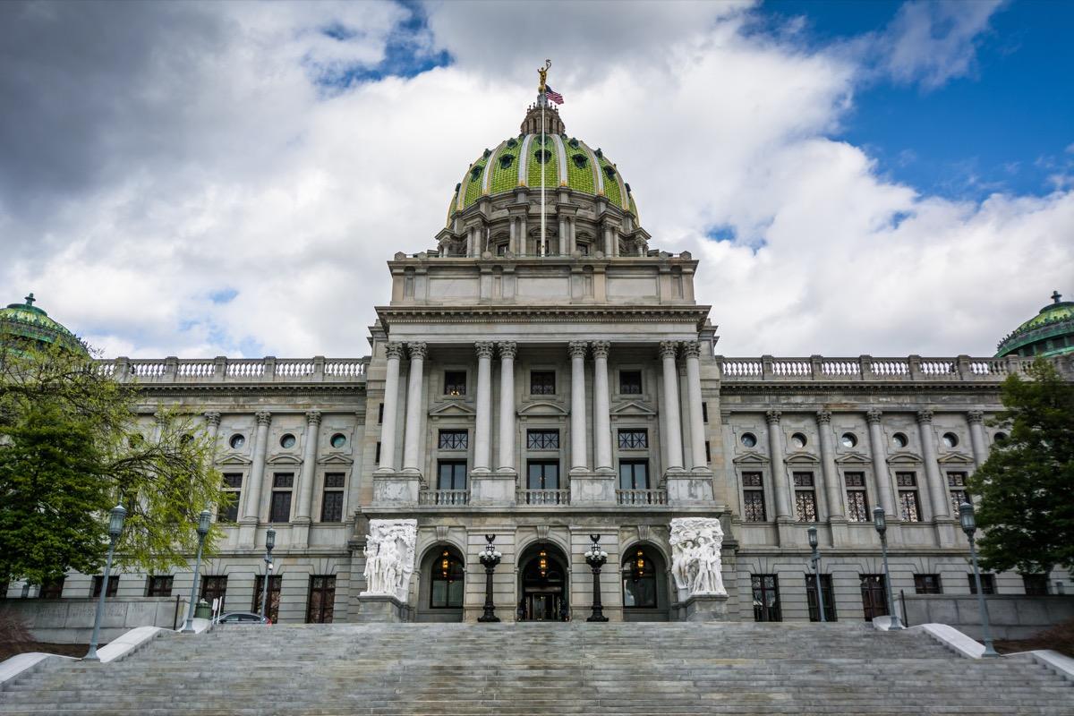 pennsylvania state capitol buildings