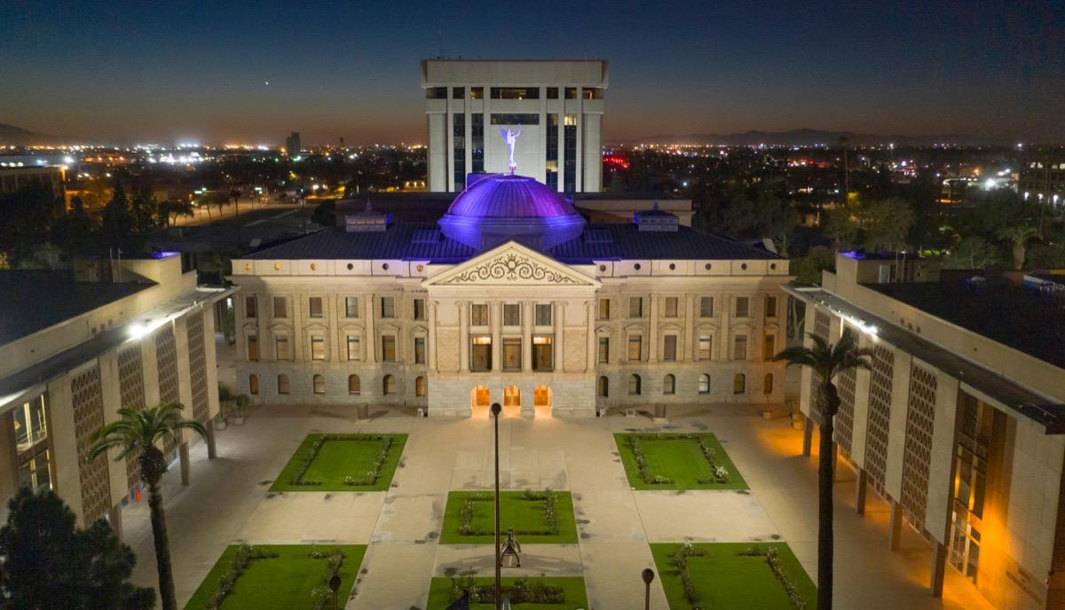 phoenix arizona state capitol buildings