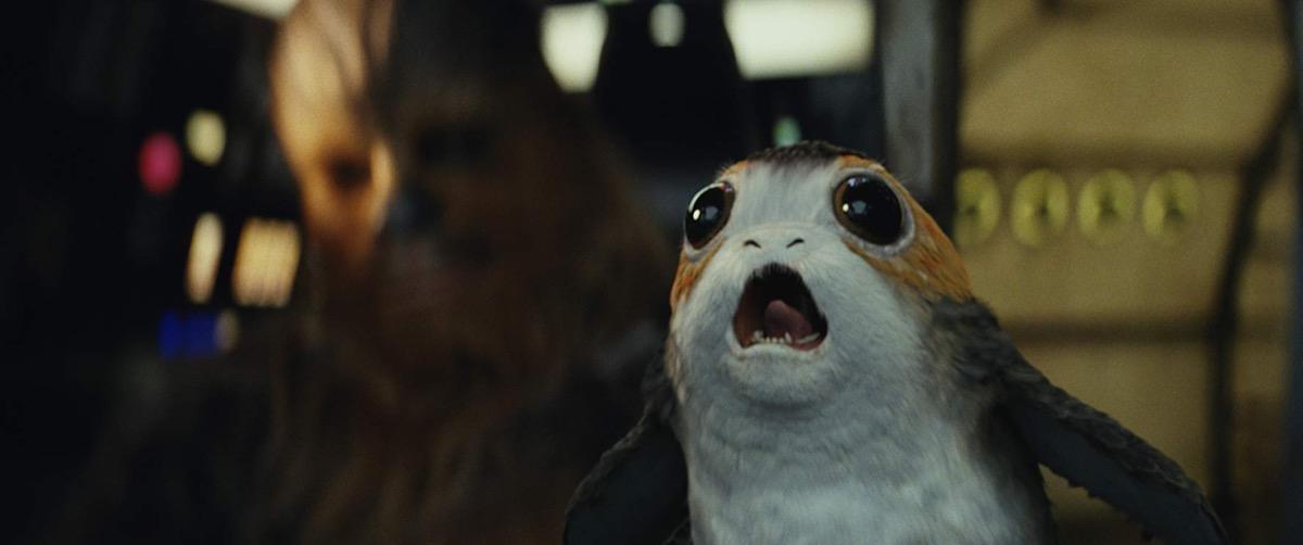 Porg in The Last Jedi