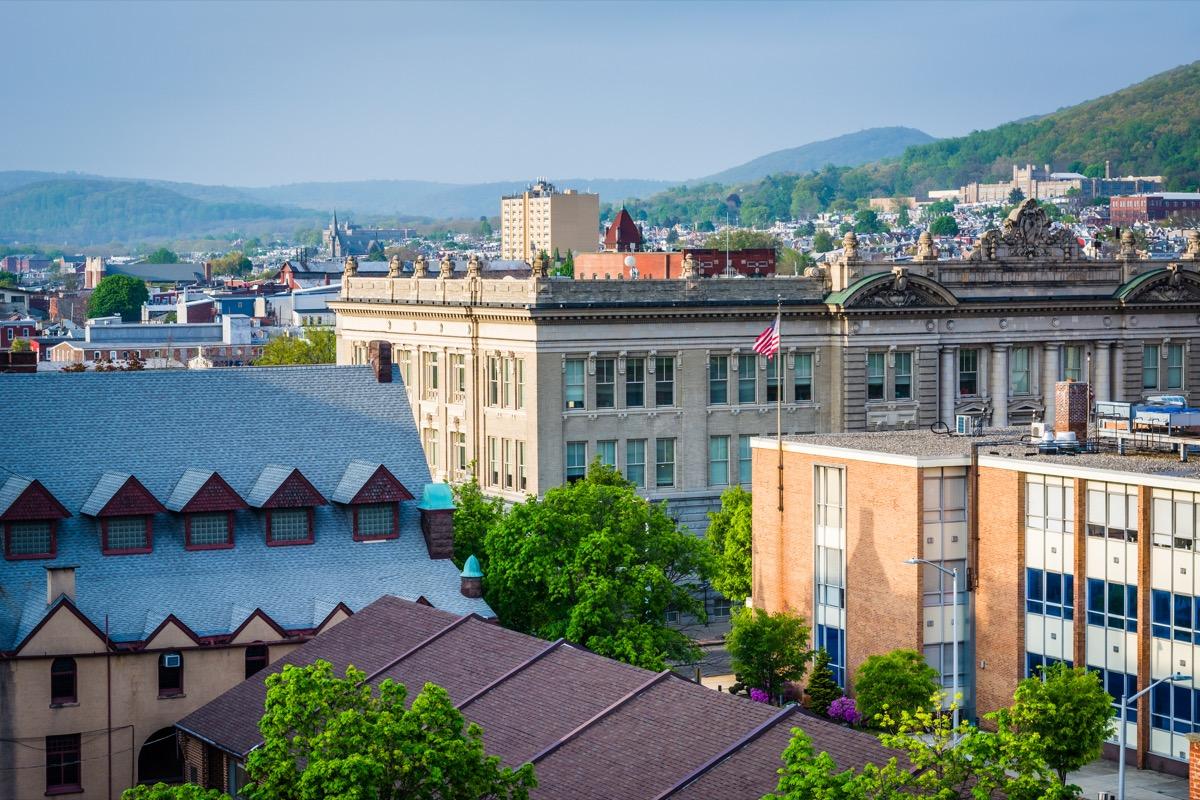reading pennsylvania, heart attack cities