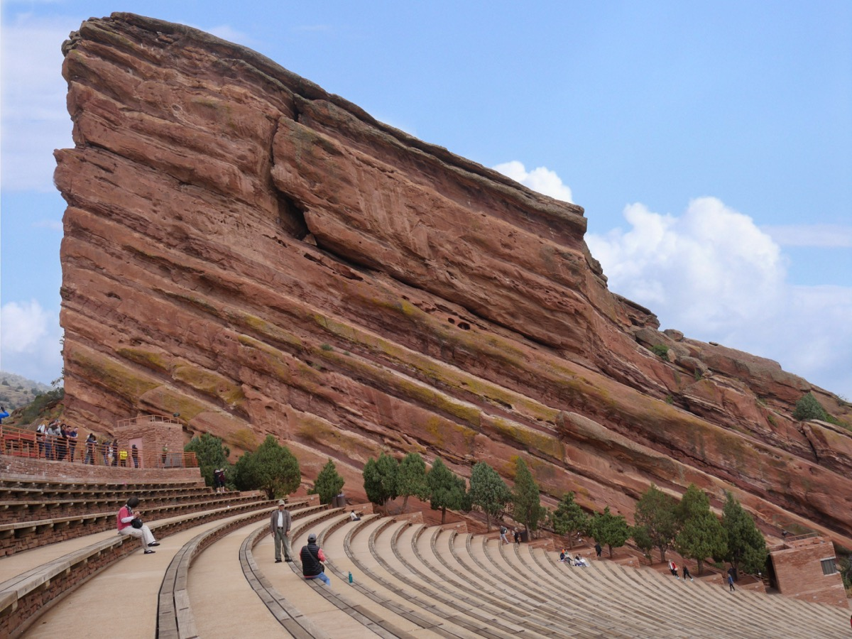 red rocks amphitheater colorado, iconic state photos