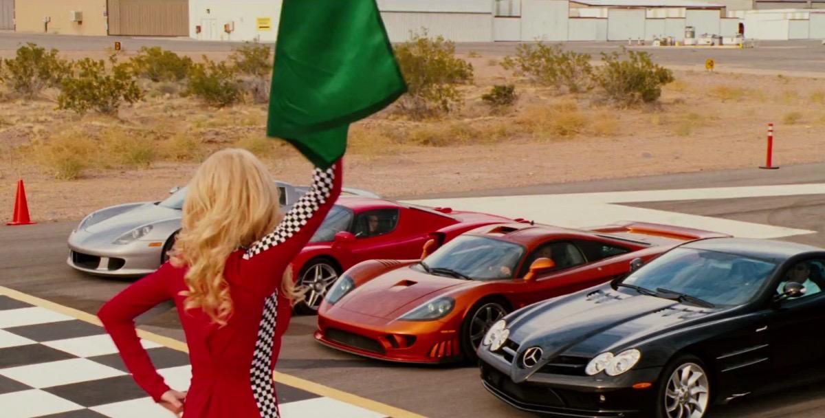 cars in the movie redline