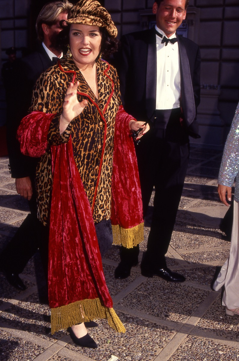 rosie o'donnell in 1990, vintage red carpet photos