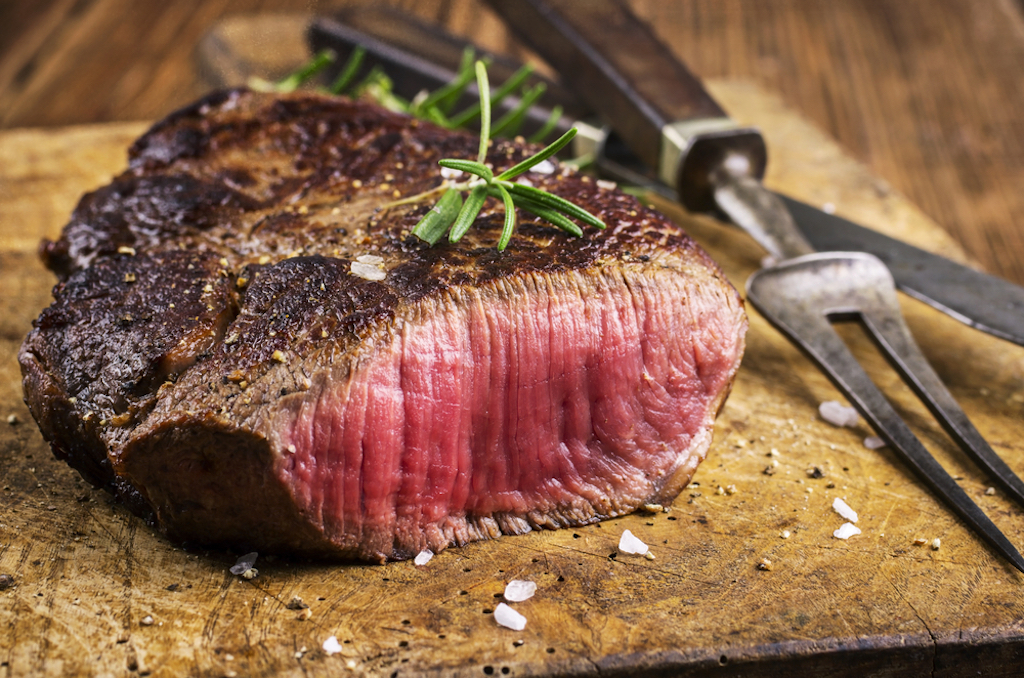a nice juicy steak is delicious, but it can also lead you to an early death.