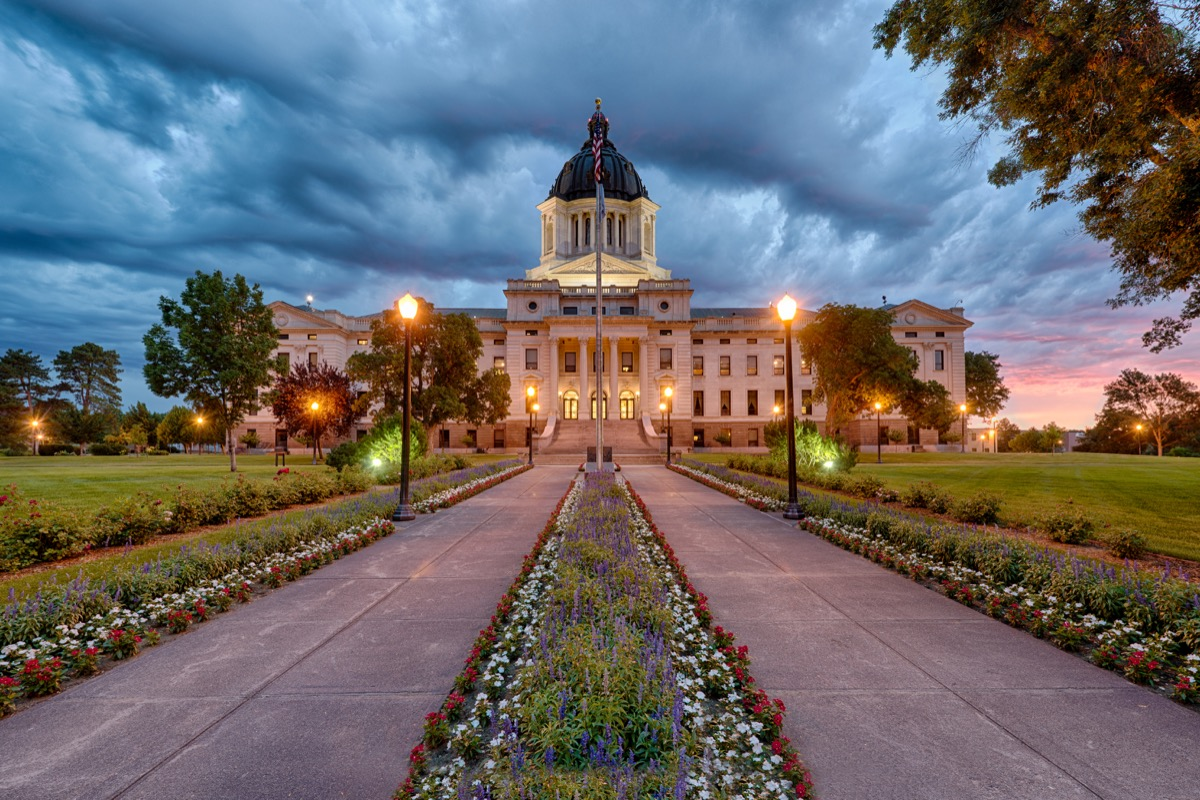 south dakota state capitol buildings