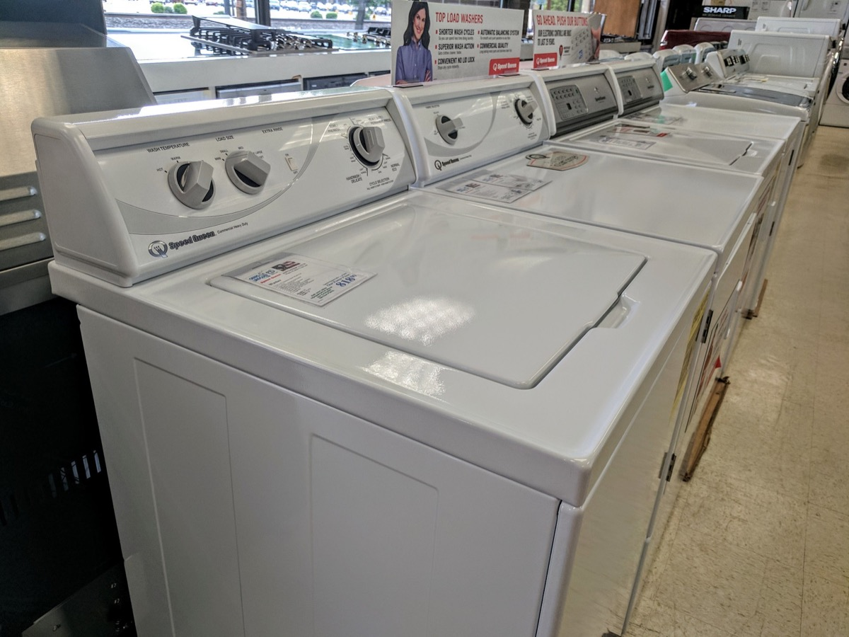 speed queen washing machine appliances with cult followings