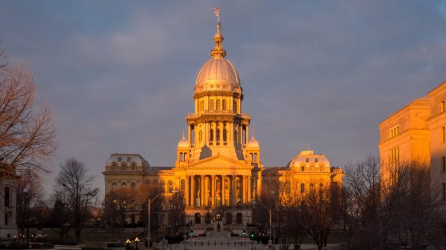 springfield illinois state capitol buildings