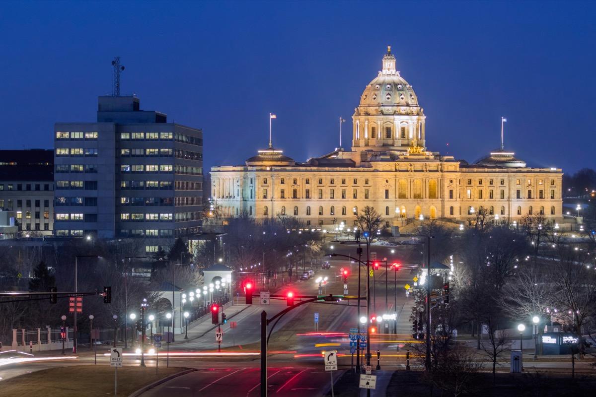 st. paul minnesota state capitol buildings