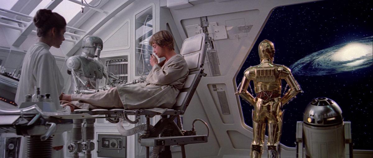 star wars luke bionic hand, star wars jokes