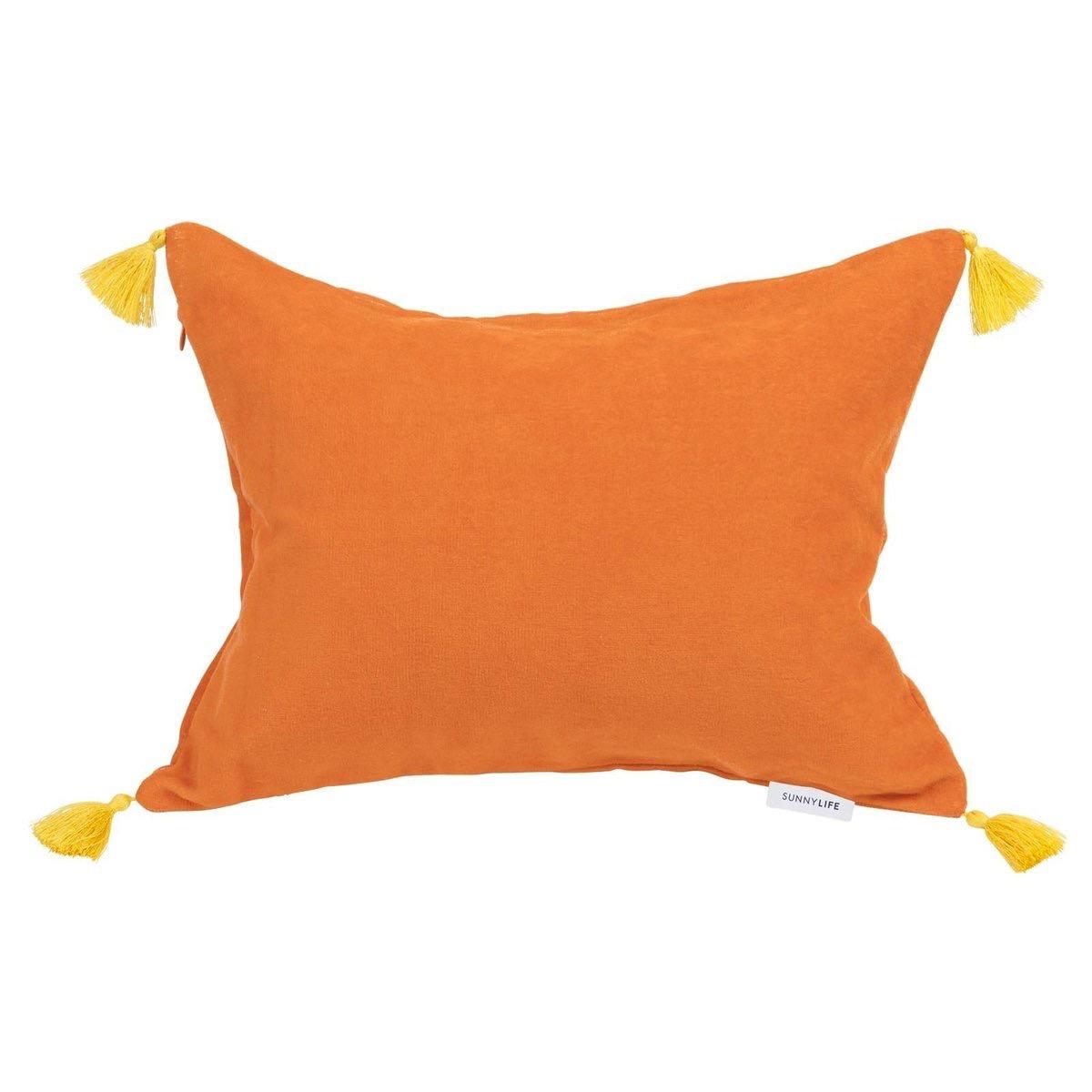 Sunnylife Orange Beach Pillow