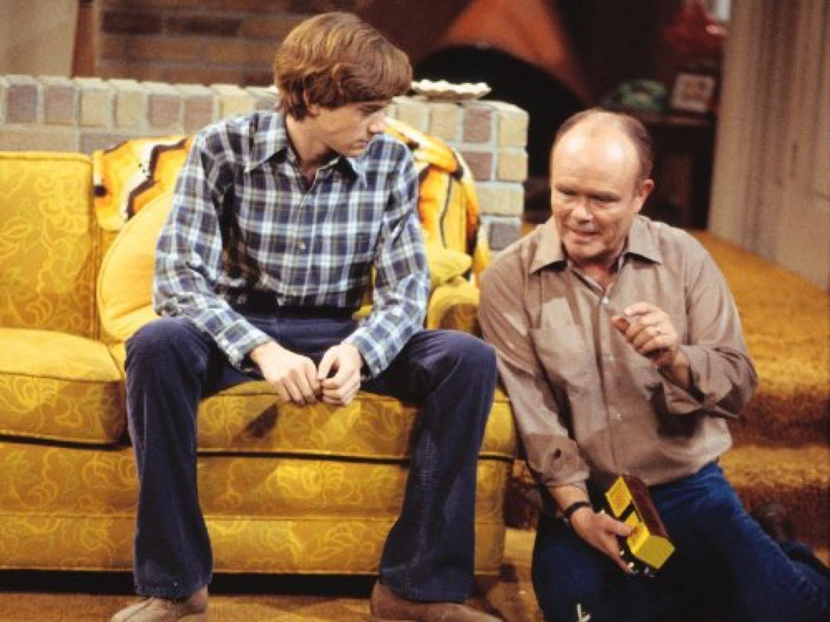 the 70's show, harvest gold, 1970s home decor