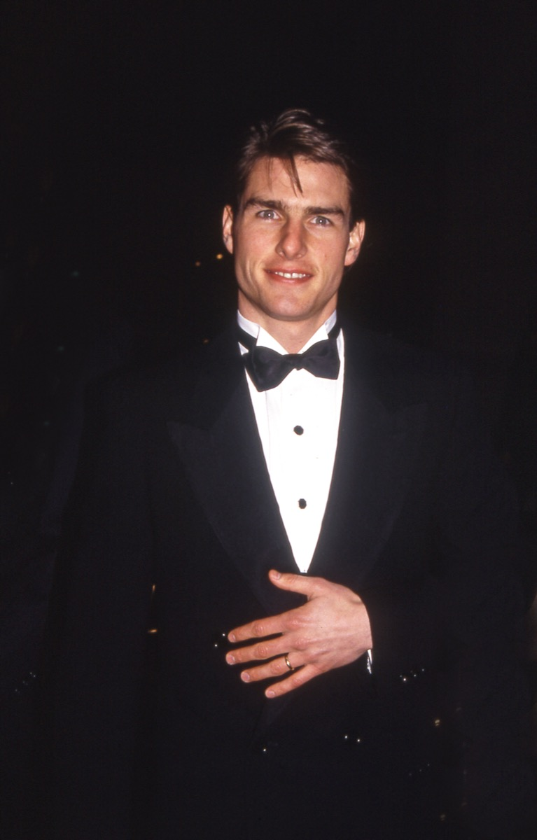 tom cruise 1990s, vintage red carpet photos