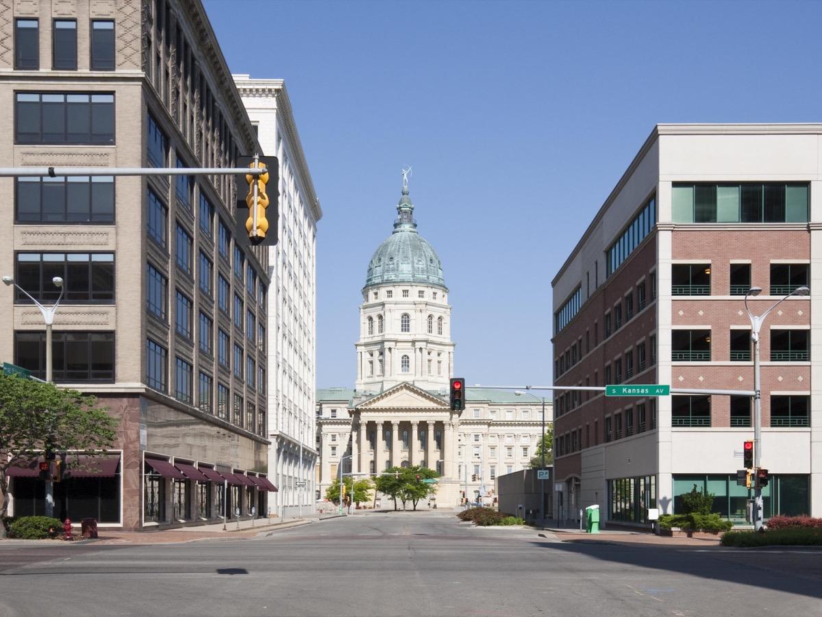 topeka kansas state capitol buildings