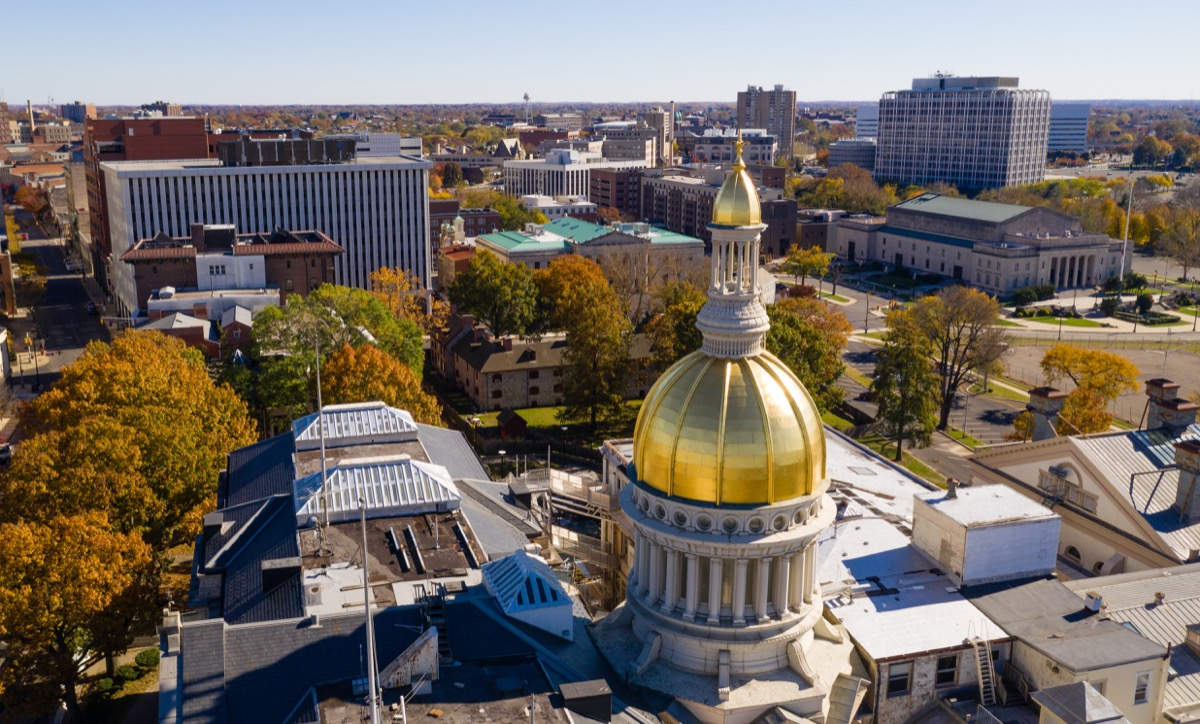 trenton new jersey state capitol buildings