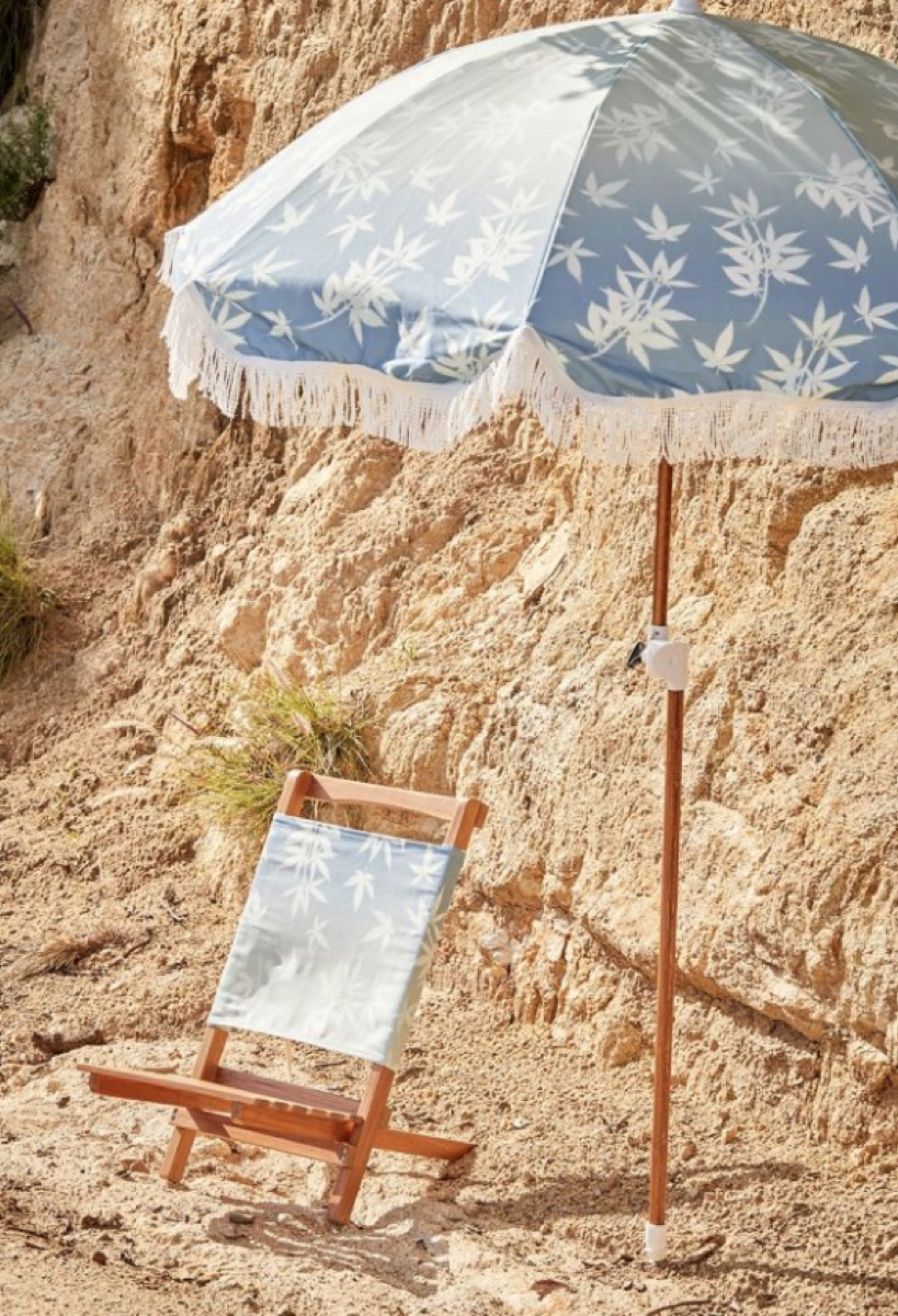 urban outfitters printed beach umbrella
