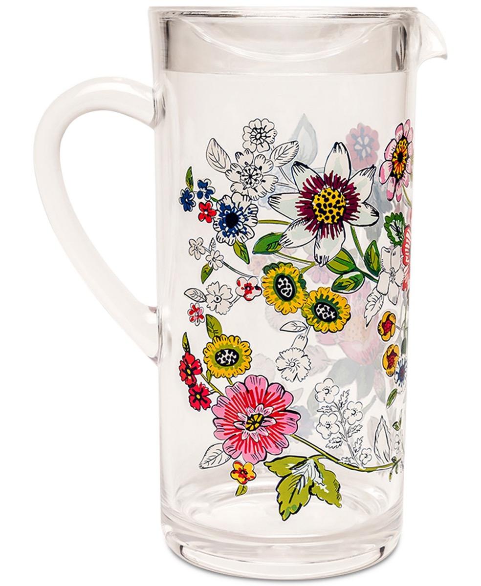 Vera Bradley Floral Pitcher