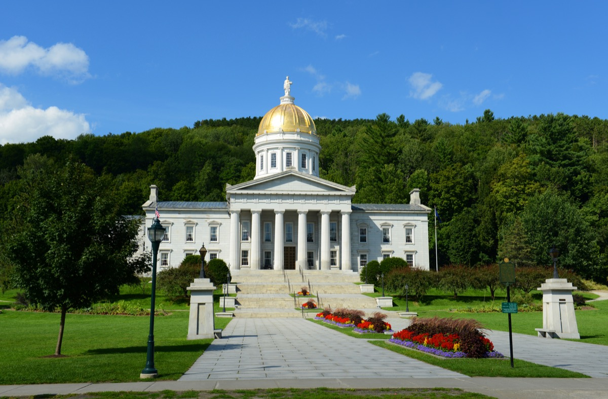 vermont state capitol buildings