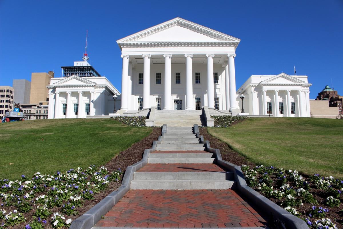 virginia state capitol buildings