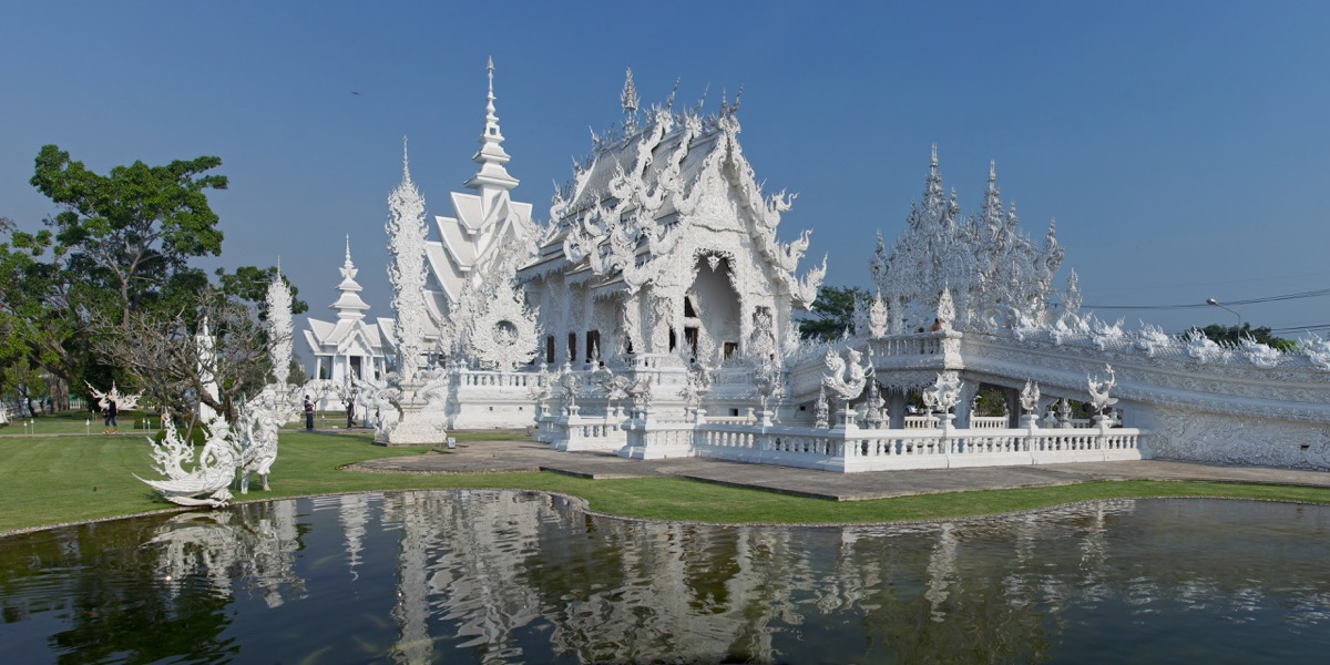 Wat Rong Khun Privately Owned Landmarks