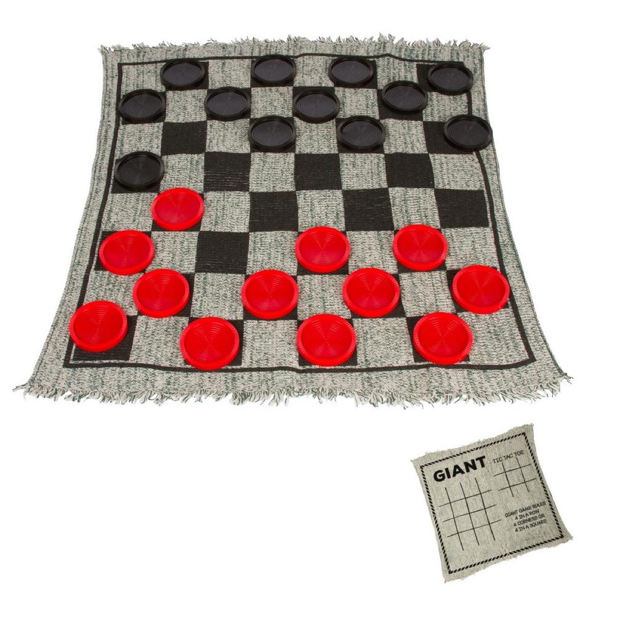 Outdoor Checkers Rug