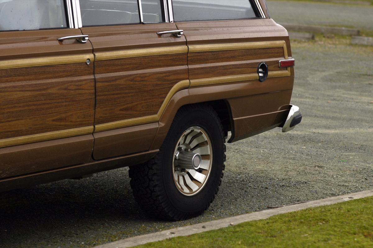 1970s station wagon with wood paneling