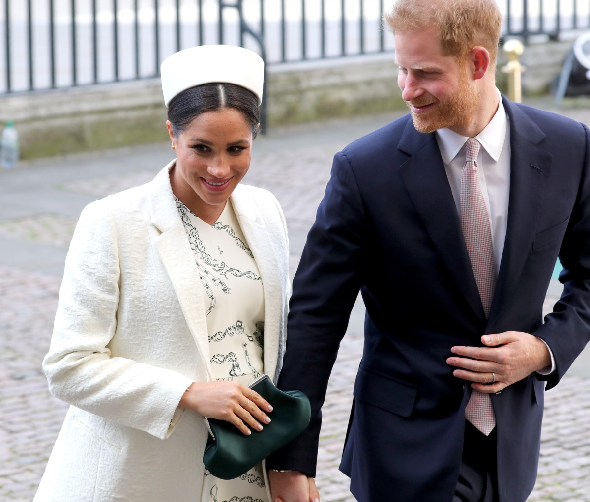 Meghan Markle pregnant with Prince Harry, just a month before the Baby Sussex photo call