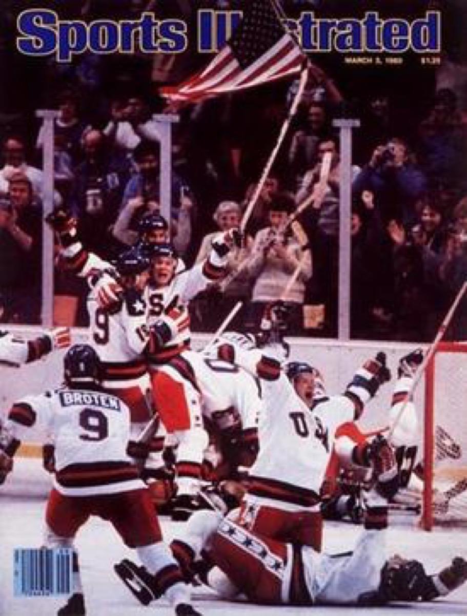 sports-illustrated-miracle on ice cover magazine, 1980s nostalgia