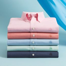supima cotton performance polo shirt from brooks brothers