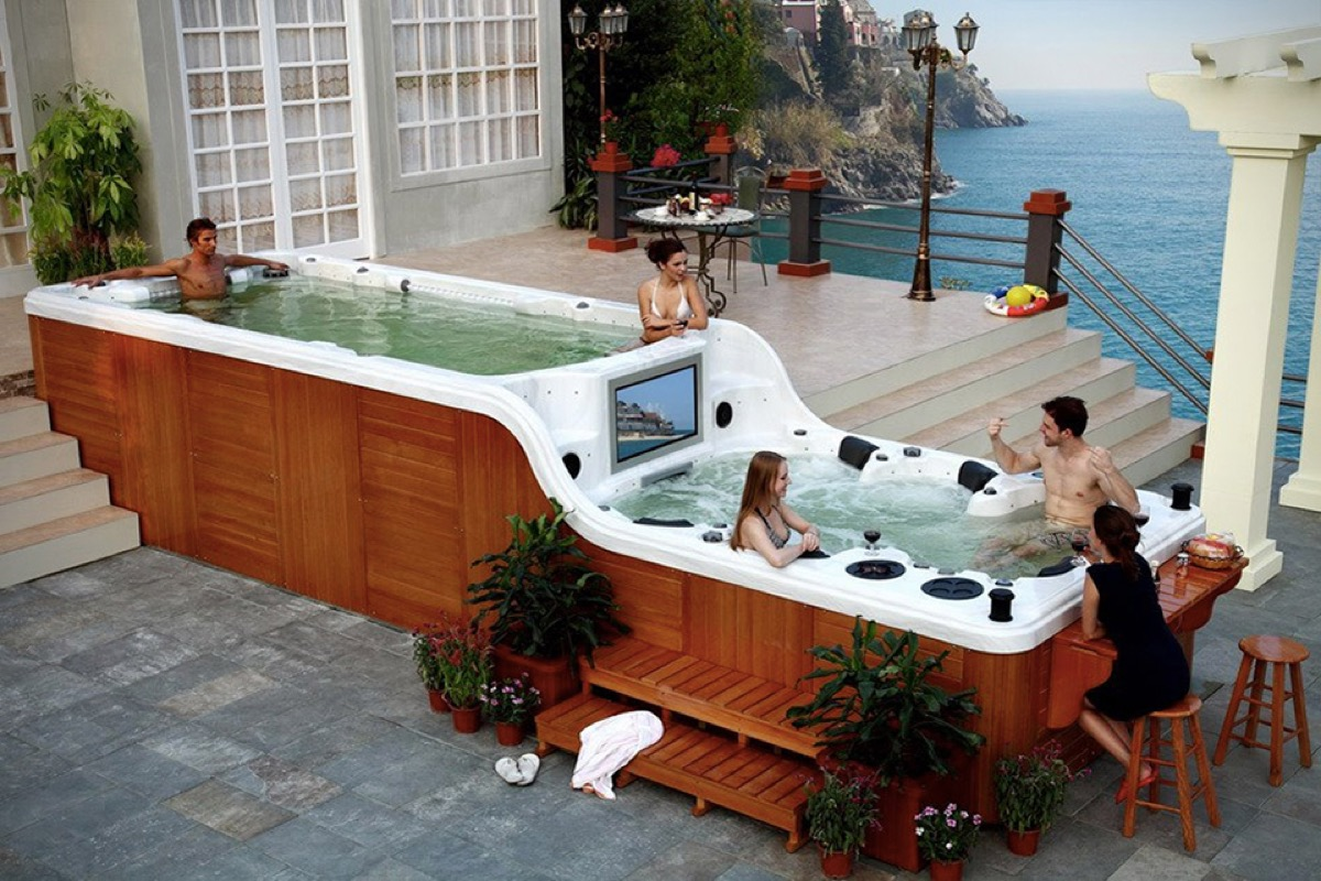 Swim Spa Luxema 8000 Most Expensive Things on the Planet