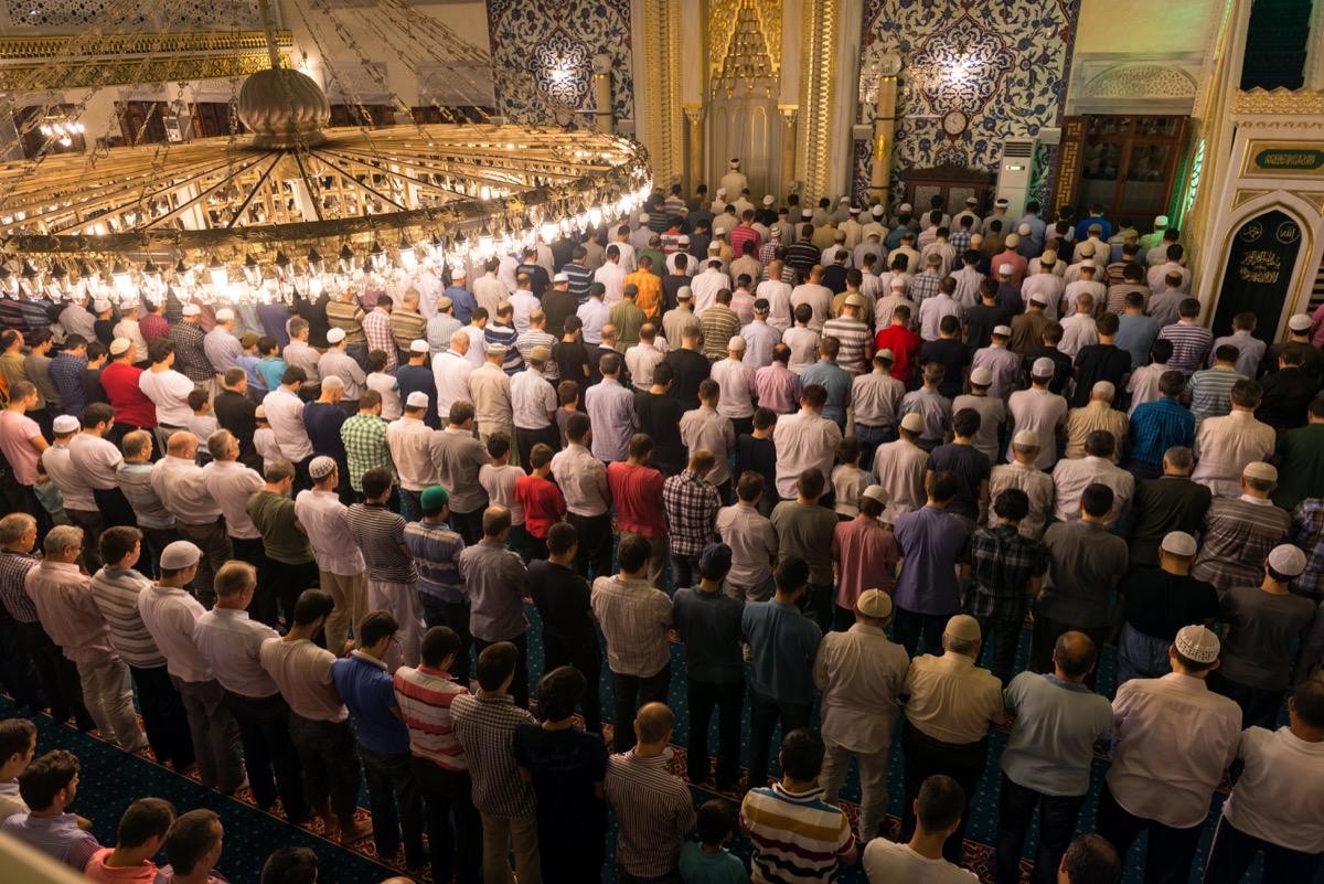 Tarawih Prayer for Ramadan