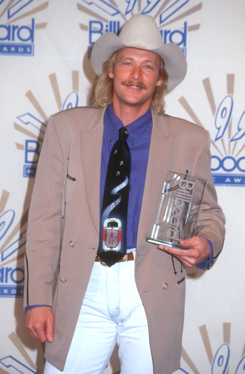 alan jackson at the second annual billboard music awards