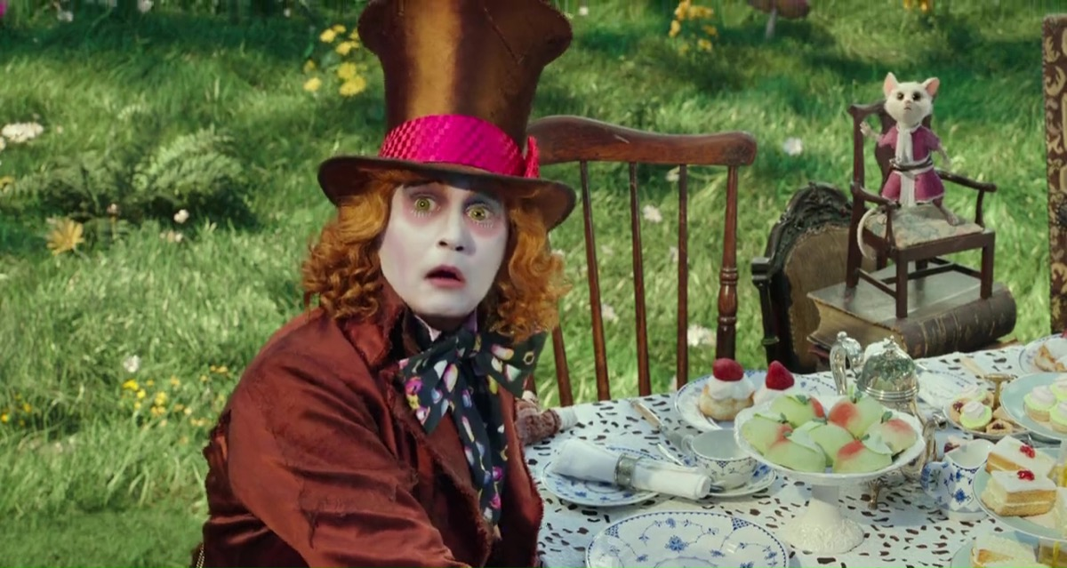 alice through the looking glass, memorial day movie