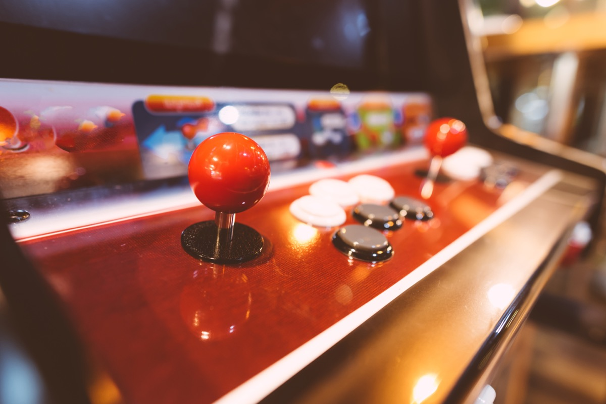 arcade game, 1980s nostalgia