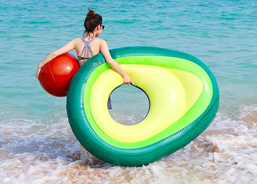 avocado pool float, amazing summer buys