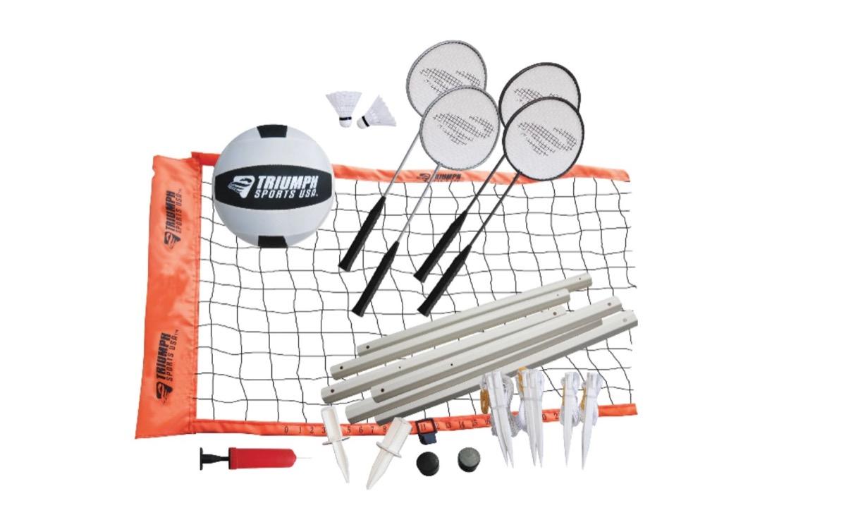 badminton volleyball set, summer buys under $100