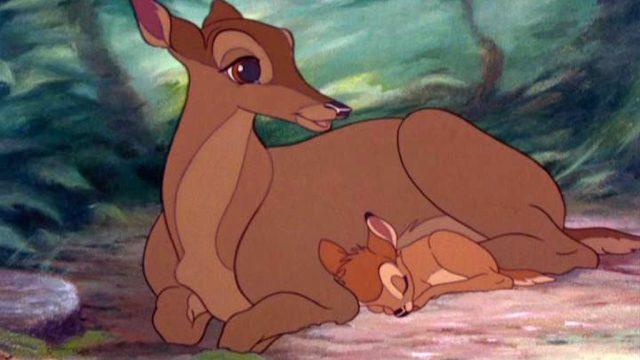 bambi mother death scene Disney