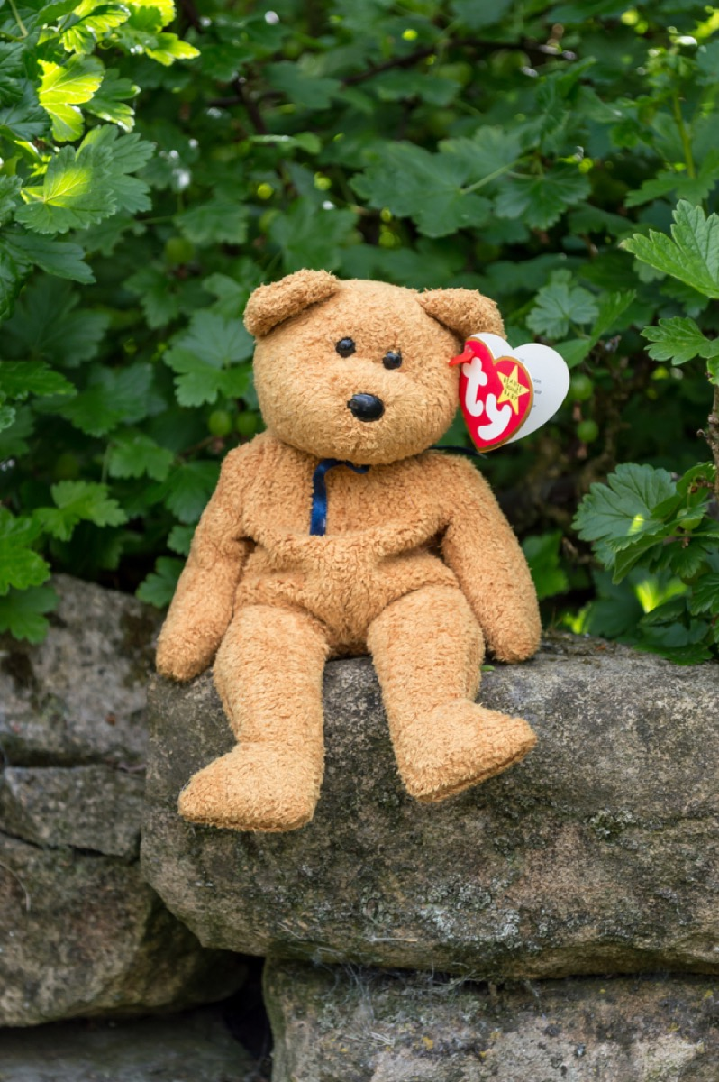 beanie babie toy, things only 90s kids remember