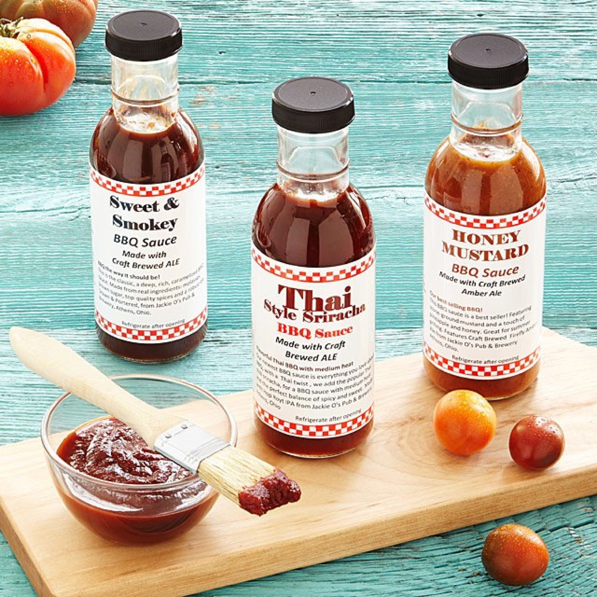beer-infused bbq sauce