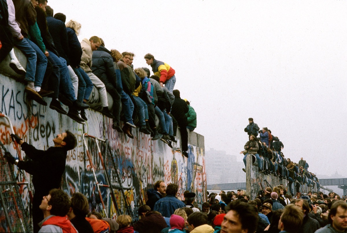 fall of the berlin wall, 1980s nostalgia