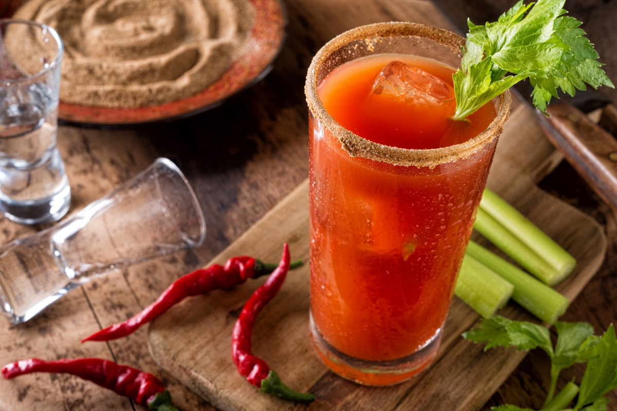 Bloody Mary Caesar Cocktail Canadian Traditions