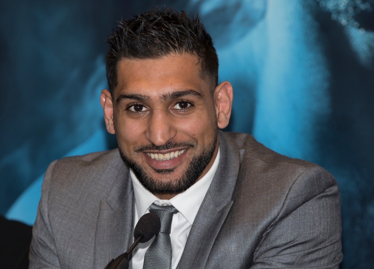 Boxer Amir Khan Ramadan