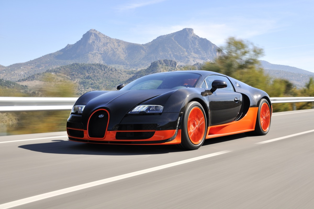 Bugatti Veyron Most Expensive Things on the Planet