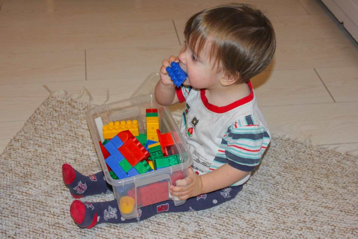 Child Chewing on Toys Childhood Habits that Affect Health