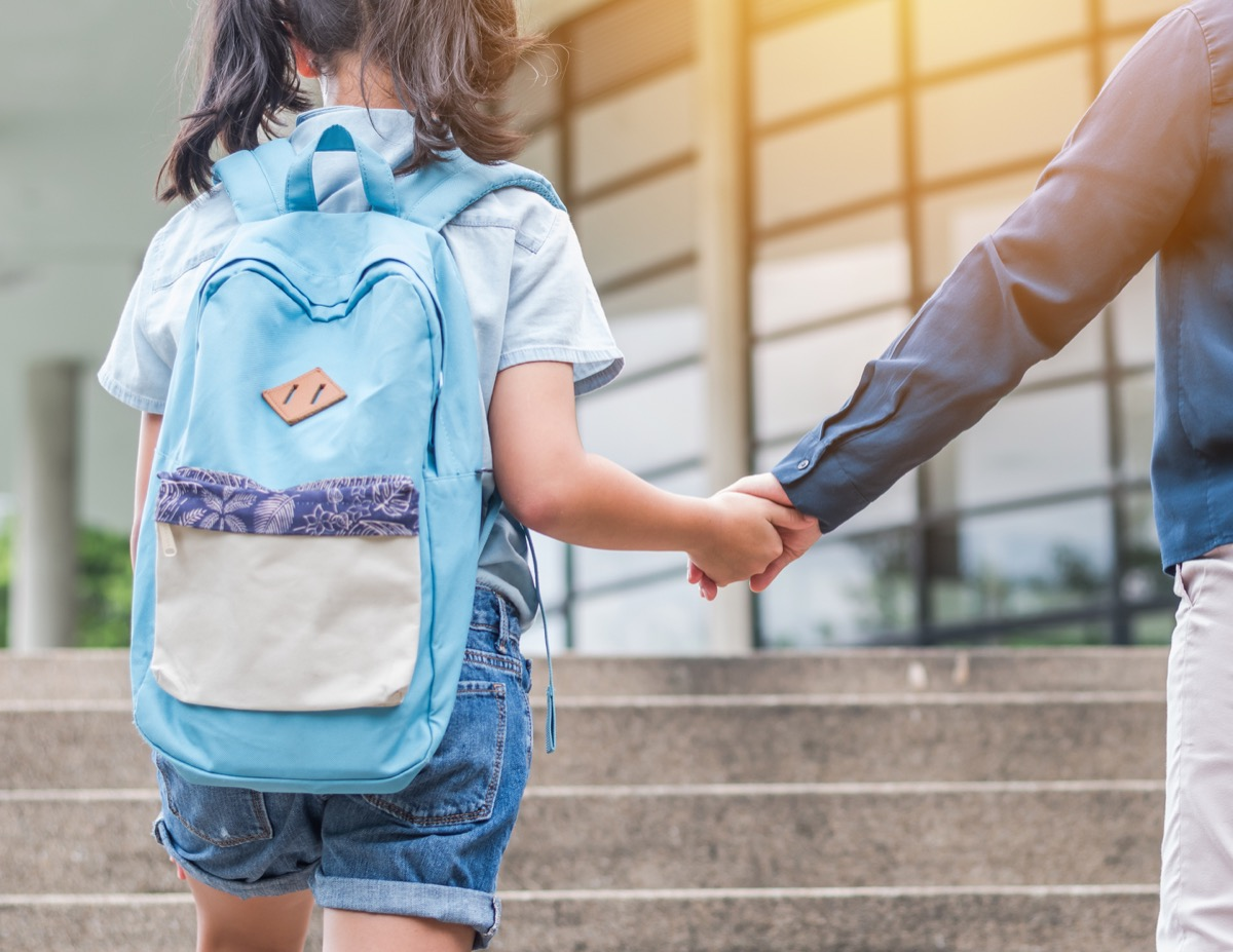 Child Carrying a Heavy Backpack Childhood Habits that Affect Health