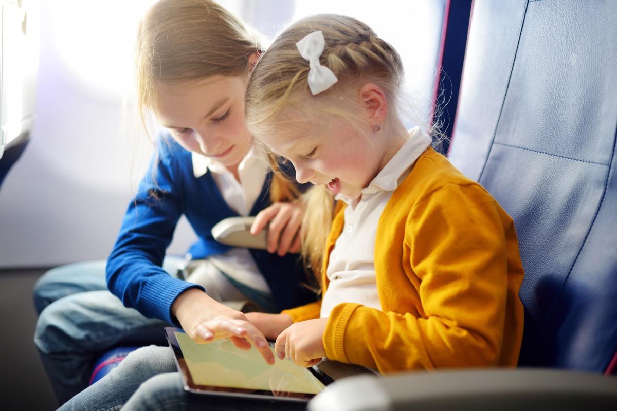 children on airplane things that horrify flight attendants