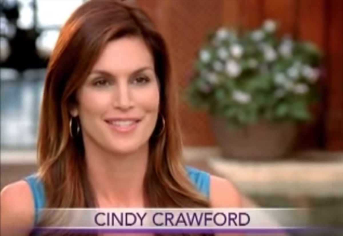 cindy crawford beauty commercial, celebrity infomercial